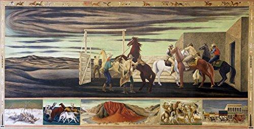 24 x 36 Giclee print of Mural
