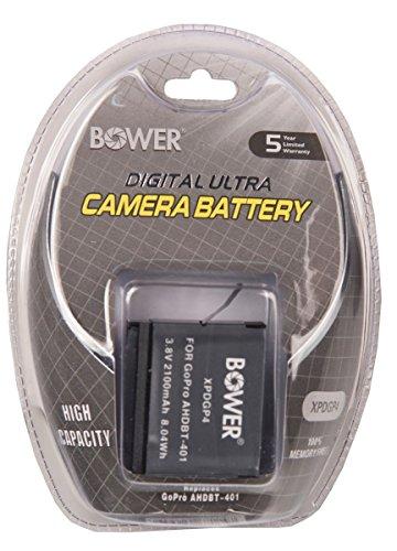Bower XPDGP4 Digital Camera Battery for GoPro AHDBT-401 Hero 4 (Black)
