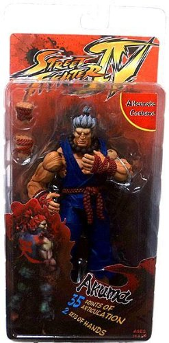 Akuma Costumes Street Fighter 4 (Street Fighter IV Survival Mode Series 2 Akuma Alternate Costume 7 Action Figure by Street Fighter IV)