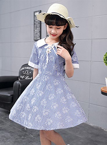 6d4096296910a ZUOMA子供服 ワンピース ガールズ 花柄 Aライン フレア 女の子 ドレス ...