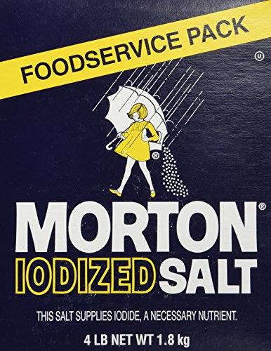 - Morton Iodized Table Salt - 4lb. box