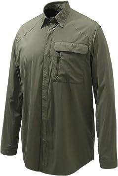 Beretta - Camisa Storm verde XL LU014T19370715: Amazon.es: Deportes y aire libre