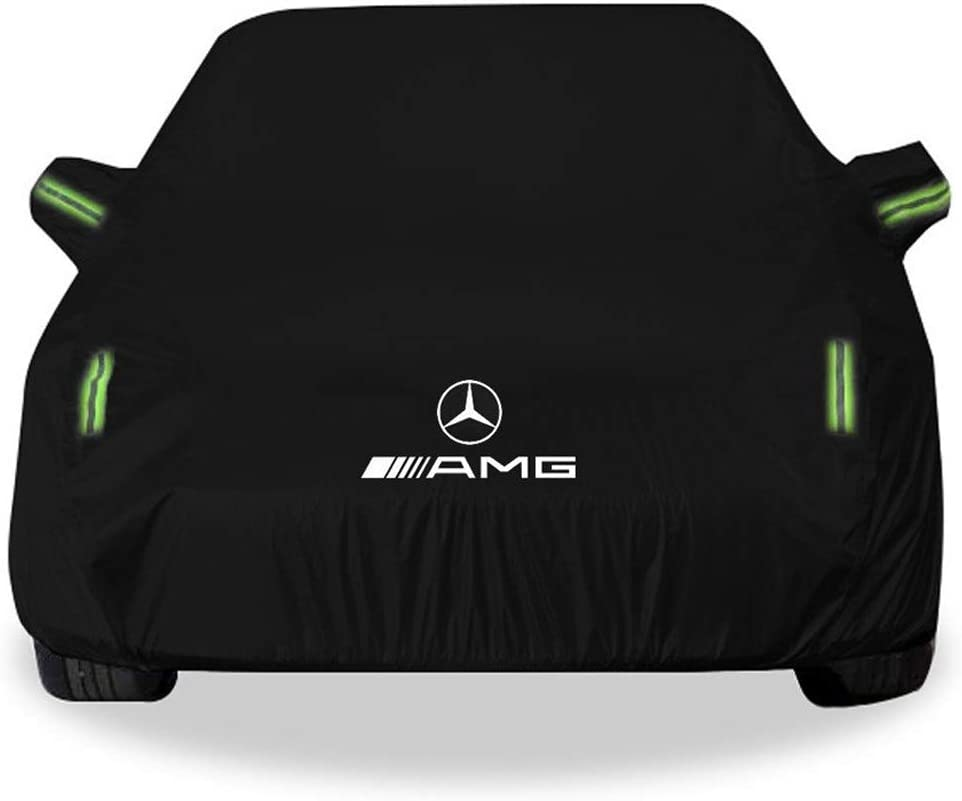 Whitejianpeak Compatible With Mercedes-AMG CLA 45 Breathable Cover Heavy Duty Cover Outdoor Indoor Full Exterior Cover All Weather Defender Cover Car Sunshades Rain UV Protective