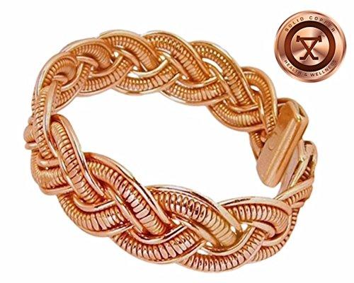 Womens Copper Magnetic Bracelet Medium