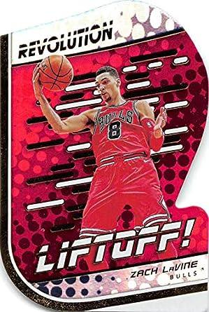 5e149d0b3 2018-19 Panini Revolution Liftoff Basketball  8 Zach LaVine Chicago Bulls  Official NBA Trading