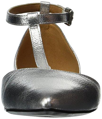 free shipping 100% guaranteed prices Calvin Klein Women's Ghita Ballet Flat Silver with paypal free shipping shopping online sale online imP1J4TeTX