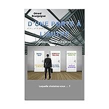 D'UNE PORTE À L'AUTRE.: Cinq Nouvelles policières + 1 Bonus (French Edition)
