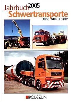 Book Jahrbuch Schwertransporte und Autokrane 2005