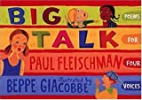 Big Talk, Paul Fleischman, 0763606367