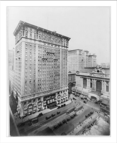 Historic Print (L): Ritz Tower Building, Park Ave. & 57th St., New York - 57th New York St