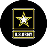 Army Spare Tire Cover for 205/75R14 Jeep RV and more (Select from popular sizes in drop down menu or contact us-ALL SIZES AVAILABLE)
