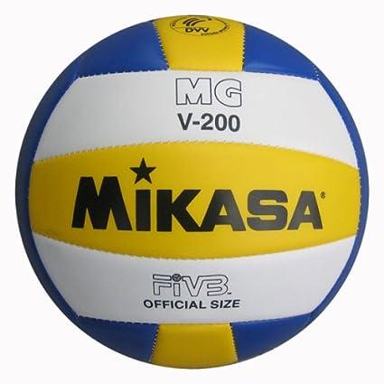 Mikasa MGV - Balón de voleibol (200 g): Amazon.es: Deportes y aire ...