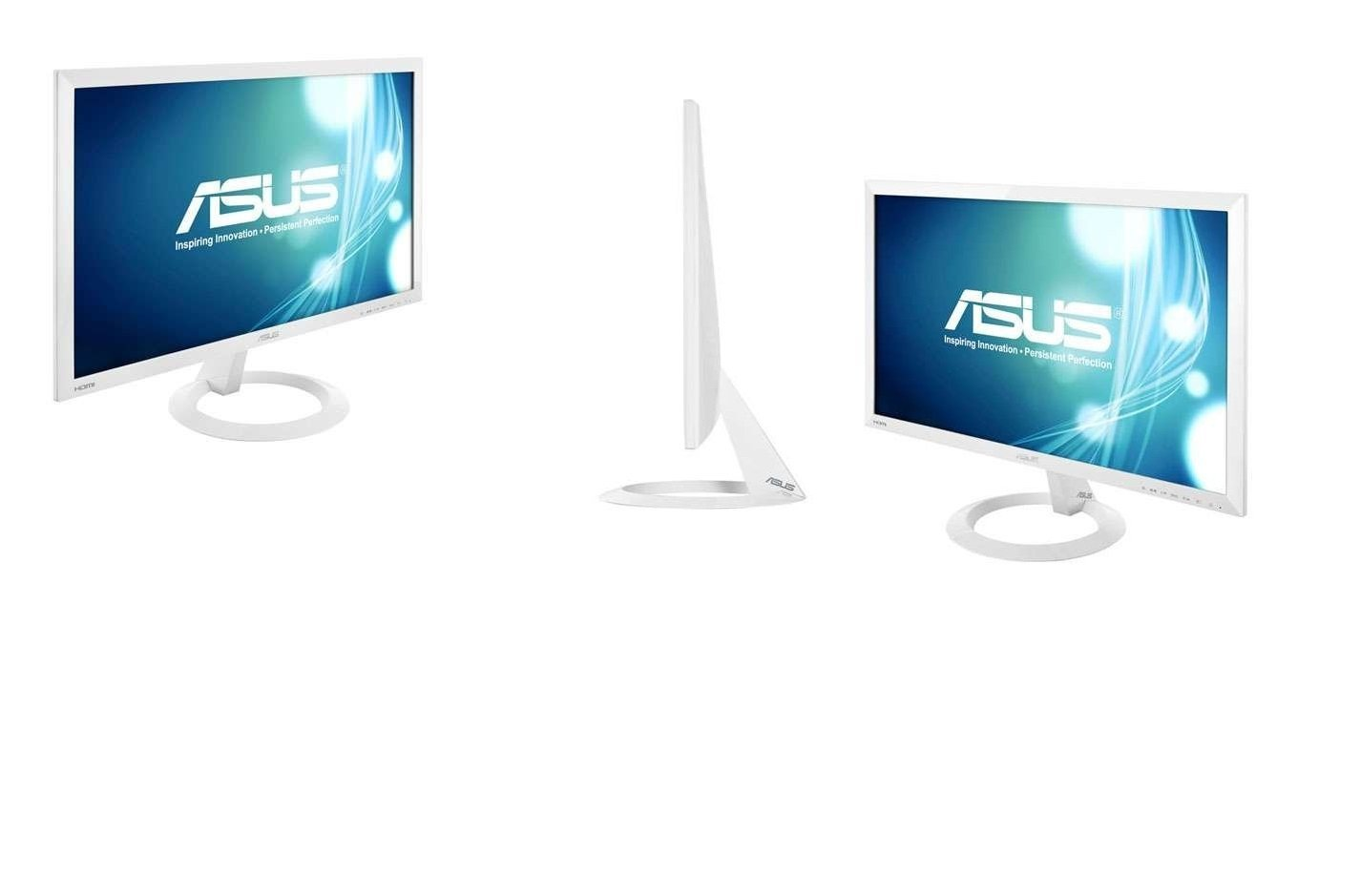 ASUS 23-inch Full HD Wide-Screen Gaming Monitor [VX238H] 1080p, 1ms Rapid Response Time, Dual HDMI, Built in Speakers, Low Blue Light, Fliker Free, ASUS EyeCare