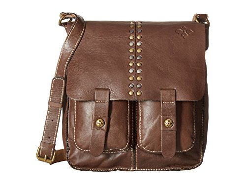 Patricia Nash Women's Armeno Messenger Chocolate 1 Messenger Bag by Patricia Nash