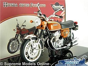 Supreme Models Honda Cb750 Four Motorbike Model 124 Scale Gold Ixo