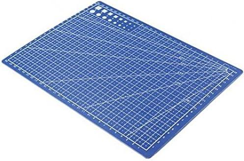 Useful A4 Tapis de d/écoupe en cuir avec lignes de grille imprim/ées