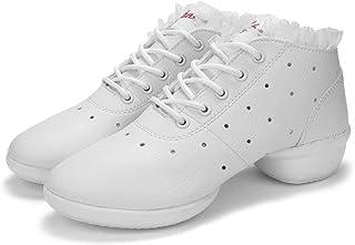 Monllack Danse 2017 Femmes Chaussures Jazz Hip Hop Chaussures en Cuir de Vache à pâte Molle Femme Sneakers Salsa Salle de Bal Chaussures de Danse antidérapants