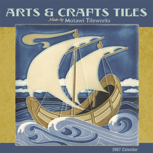 Arts & Crafts Tiles 2007 Mini Wall Calendar ()