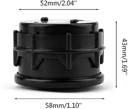 BIlinli Termometro elettronico EGT da 2  52mm LED Temperatura Gas di Scarico Temperatura 12V