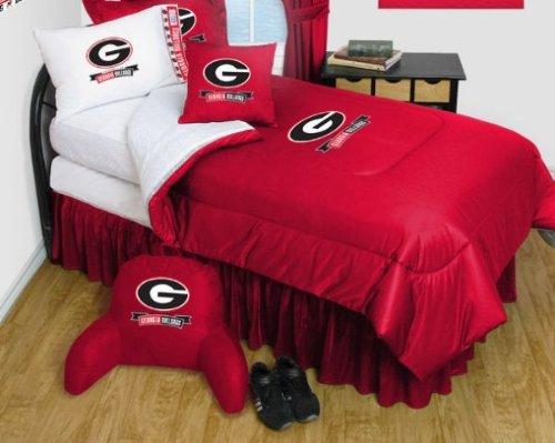 georgia bulldog sheets twin - 6