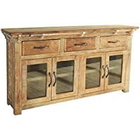 Westwood Rustic Distressed Solid Wood Sideboard Console