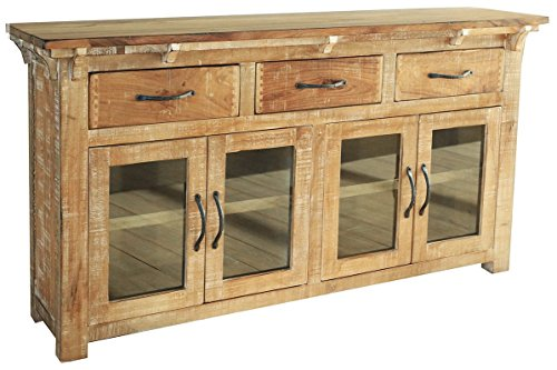 Westwood Rustic Distressed Solid Wood Sideboard Console (Distressed Sideboards)