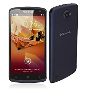 WongMarket Lenovo S920 Smartphone Android 4.2 MTK6589 Quad Core 5.3 Inch HD IPS Screen- Dark Blue