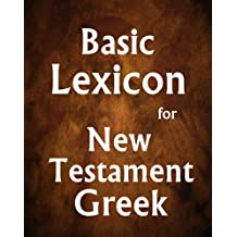 Basic Lexicon for New Testament Greek