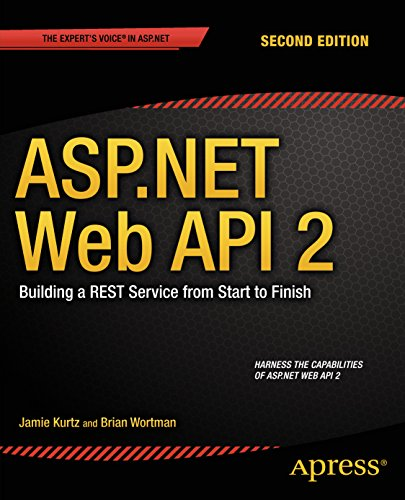ASP.NET Web API 2: Building a REST Service from Start to Finish Pdf