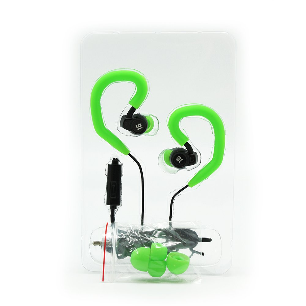 Amazon.com: Polaroid Sport EARBUDS with removable Ear Hooks (BLUE) : Electronics