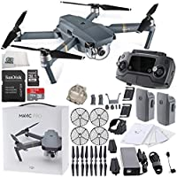 DJI Mavic Pro Collapsible Quadcopter + DJI Propeller Cage Essential Bundle