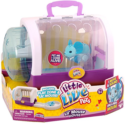 Little Live Pets Lil Mouse House - Jungle Wonder
