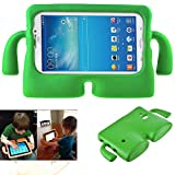 Samsung Galaxy Tab 7.0 Inch Case,Y&M(TM) Cute EVA Foam Childproof Shockproof Durable Light Weight Cute 3D Cartoon Kids Protective Tablets Case Cover for Samsung Galaxy Tablet 2 /3 /3 Lite / 4 / Q 7.0 inch (Green)