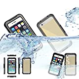 iPhone 6 Waterproof Case, iNextStation(TM) Durable Super Multi function Outdoor Sports Waterproof Dustproof Scratch-Free TPU Silicone Case Cover For Apple iPhone 6 4.7 inch Screen