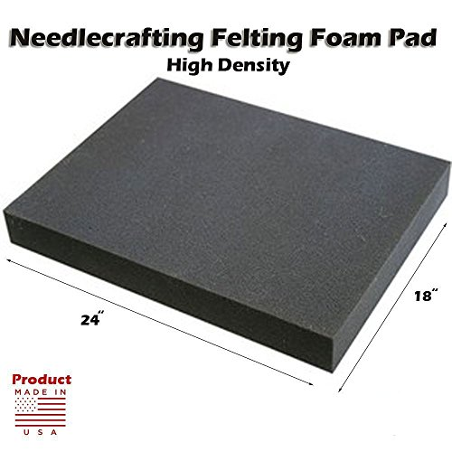 Dense Foam Needle Felting Pad - 18