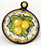 TOSCANA: Old Fashion Round Trivet - Dec. Limone Barocco [#LB54-TOS]