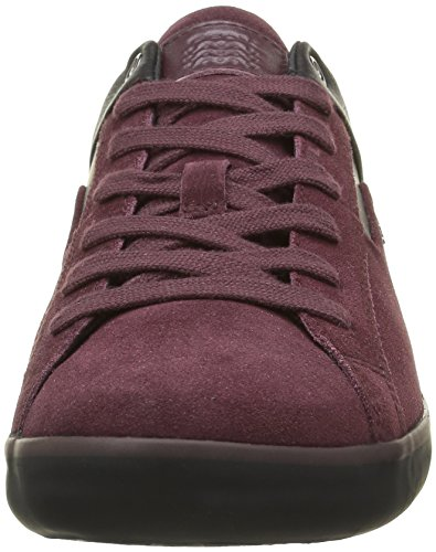 Geox Men's U Box C Low-Top Sneakers Red (Burgundy/Blackc8351) R9mWvfzt