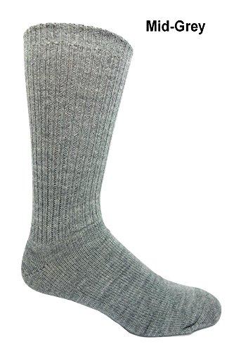 mens 100 wool dress socks - 3