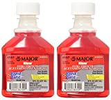 Mapap Adult Rapid Burst Cherry Extra Strength Acetaminophen Liquid 8 Ounces (Pack of 2)