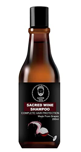 Sacred Men Red Wine Shampoo 200ml