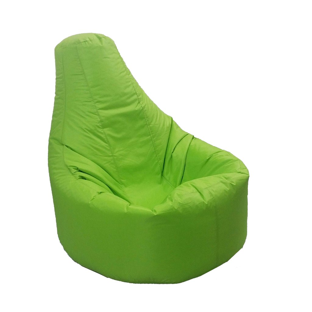 Homyl XXL Recliner Gaming Beanbag Chair Cover Adult Seat Pod Bag Cover Waterproof - 9 Colors Pick - Green
