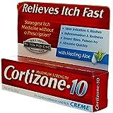 Cortizone 10 Maximum Strength Anti-Itch Creme , 1 Oz