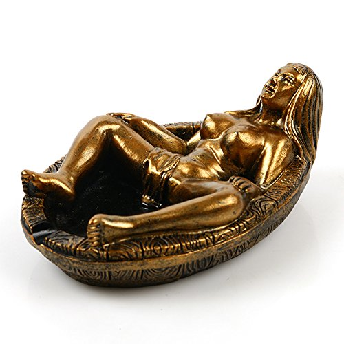 Naked Women Resin Statues Ashtray Personalized Gift Home Decoration Resin Skull