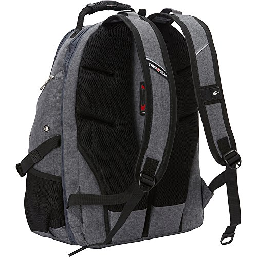 SwissGear Travel Gear 5977 Laptop Backpack- (Grey) by Swiss Gear (Image #4)