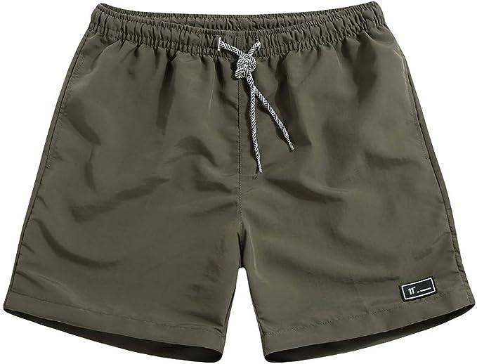 Herren Shorts Kurz hosen Übergröße Niedrige Taille Stretch Sport Camouflage