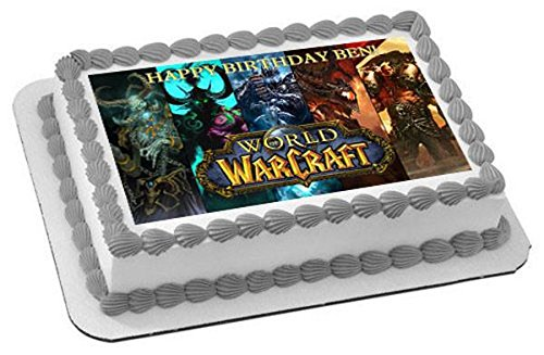 Amazoncom World Of Warcraft Edible Cupcake Toppers 325