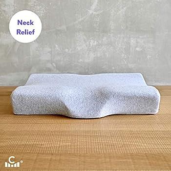 Amazon Com Cushion Lab Extra Dense Ergonomic Cervical