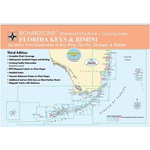 Florida Keys & Bimini, 3rd Edition (Waterproof Chart Book)