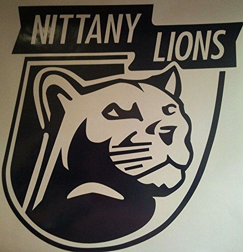 Penn State Nittany Lions Cornhole Decals - 2 Cornhole Decals by The Cornhole King