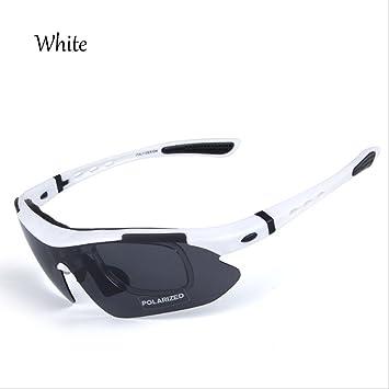Smpjf PES-Montar Gafas De Sol Polarizadas Bicicleta De MontañA Gafas A Prueba De Viento